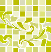 Fundo abstrato verde bonito da elite — Vetorial Stock