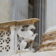 Statue of griffin of parliament Vienna Austria — Stock Photo