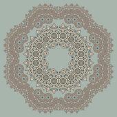 Romantic vintage lace ornament paper texture — Stock Vector
