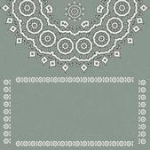浪漫的老式花边装饰纸张纹理 — 图库矢量图片