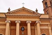 Bau der Kathedrale unter blauen Himmel Italien — Stockfoto