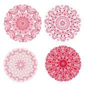 Abstract colorful Retro geometric hexagon — Stock Vector
