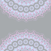 Background illustration with blue, lilac lace — Stock Vector