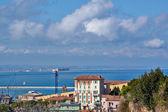Great view sea and city of Ancona, Italy — Stock Photo