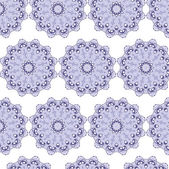 Seamless pattern blue lilac lace — Stockvector