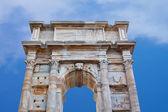 Arco antiguo histórico de la época romana, italia — Foto de Stock