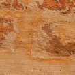 Old brick brown wall is closeup — Stock Photo #7447319