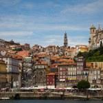 View of Porto and Douro river, Portugal — Stock Photo
