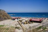 Sesimbra beach, Setubal, Portugal — Stock Photo