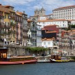 View of Porto and Douro river, Portugal — 图库照片