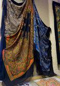 Museum of Pavlovcky Posad shawls — Stock Photo