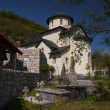 orthodox monastery moraca — Stock Photo