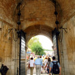Stock Photo: The gateway to the old town of Dubrovnik