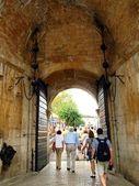 Brama do starego miasta w dubrowniku — Zdjęcie stockowe