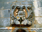 Part of old fountain in Dubrovnic, — 图库照片