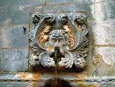 Parte de la vieja fuente de dubrovnic, — Foto de Stock