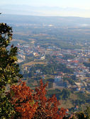Panorama Medjugorje, the view from the top Krizevac — Stock Photo