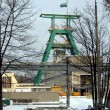 Foto Stock: Green mining extraction tower