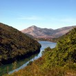 Characteristic of the Montenegrin mountain panorama — ストック写真