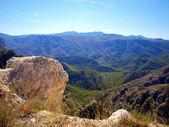 Mountain panorama typical for Montenegro — Stock Photo