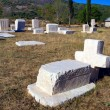 Ancient tombstones, cemetery Stolac, Bosnia and Herzegovina — Stok fotoğraf