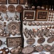 Stock Photo: Folk metal souvenirs sold on streets of Mostar