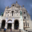 Sacre Coeur Cathedral Paris, France - Stok fotoğraf