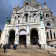 Sacre Coeur Cathedral Paris, France - Foto de Stock