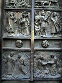 Gate of st. peters chruch in Paris — Foto Stock