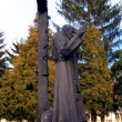 Statue of the Blessed capuchin friar, founder of many religious - Стоковая фотография