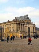 Paleis van versailles. beroemde koninklijke kasteel in frankrijk. — Stockfoto