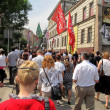 GLIWICE, POLAND - JUNE 09: II Gliwice March for Life and Family — Stock Photo