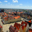 Market square in Wroclaw, Poland — Stock Photo