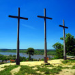 Three Crosses' Hill in Kazimierz Dolny — Stock Photo #28105089