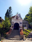 Shrine of Our Lady of Kazimierz, the Church of the Annunciation — Stock Photo