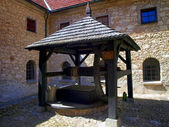 Old well in the Shrine of the Annunciation, in the monastery of — Stock Photo