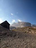 Brenta Dolomites access to Alfredo Sentiero paths from the pass — Stock Photo