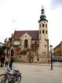 Igreja de st. andrew - histórico estilo romano, igreja católica — Fotografia Stock