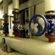 Pipelines and large valves — Stock Photo #36300055