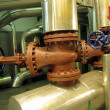 Pipelines and large valves — Stock Photo #36300183
