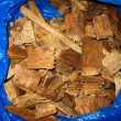 Wood chips stored — Stock Photo #36469849