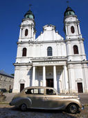 Shrine, the Basilica of St. Mary in Chelm in eastern Poland — Stock Photo