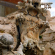 Detail of the Fountain of the Four Rivers in Piazza Navona, Rome — Stock Photo #46137997