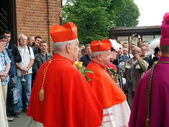PIEKARY SL, POLAND - MAY 25: pilgrimage for men — Stock Photo