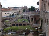 Ruins of Roman forum. Rome — ストック写真