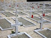 Polish War Cemetery in Loreto, Itraly — Stock Photo