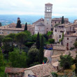 Panorama of the old city of Assisi in Italy — Stock Photo #50262425