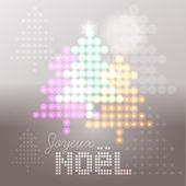 Joyeux Noël abstract background — Vector de stock