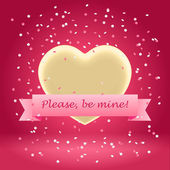 Please be mine! — Stock Vector