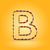 Lettre b — Vecteur